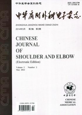 中华肩肘外科电子杂志