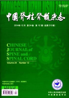 中国脊柱脊髓杂志