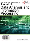 Journal of Data Analysis and Information Processing 数据分析和信息处理