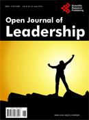 Open Journal of Leadership 领导学