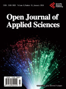 Open Journal of Applied Sciences 应用科学学报