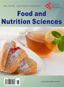 Food and Nutrition Sciences 食品与营养科学